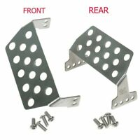 Stainless Steel Front Rear Skid Bumper Protective Plate For RC Traxxas TRX-4 RC