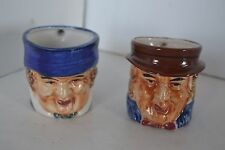 Toby, Vintage Miniature Toby Mug Made In Occupied Japan Lot of 2 lot2