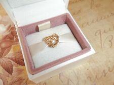 Genuine Authentic Pandora 14ct Gold Openwork Vintage Pearl Charm 750822P