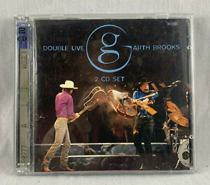 1998 GARTH BROOKS DOUBLE LIVE 2 CD ST 1991 REUNION ARENA LIMITED COMMEMORATIVE