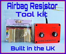AIRBAG RESISTOR Bypass TOOL Kit Citroen Relay Saxo Xsara Xantia Elyse C6 C7 C8