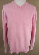 Lange Feine Herren-Pullover & -Strickware mit V-Ausschnitt und Baumwolle