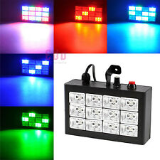 20W 12 LED Strobe Light RGB Flash Light for Club Stage Party Lighting AC100-240V
