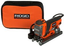 RIDGID Orbital Jig Saw Jigsaw Compact Powerful Electric Corded Caring Case Light