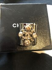 CHANEL CC BAGUES RING SZ 6