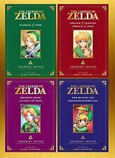 Legend of Zelda LEGENDARY EDITION Collection Series Set Books 1-4 Manga New!