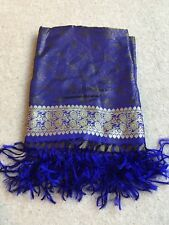 Indian Silk Pashmina Shawl Genuine