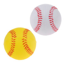 "9"" Safety Kid Baseball Base Ball Practice Training Soft Pu Child Softball x2"