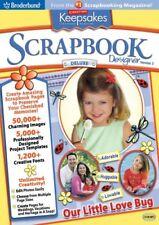 Broderbund Creating Keepsakes Scrapbook Designer Deluxe 3