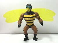 VINTAGE MOTU MASTERS OF THE UNIVERSE HE-MAN ACTION BUZZ OFF FIGURE