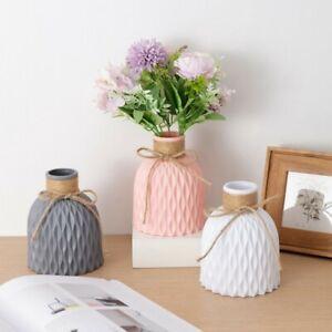 Flower Vase Decoration Home Plastic Vase Wedding Decoration Ornament Gift