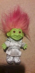 MARTIAN TROLL GIRL Green Silver Space Age Alien Costume Russ NEW Old Stock ET