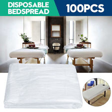 100Pcs Disposable Beauty Bed Massage Table Couch Cover Massage Spa Bed Sheet