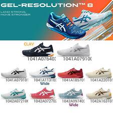Asics Gel-resolución 8/arcilla ante la estabilidad Hombres Mujeres Calzado para Tenis elige 1