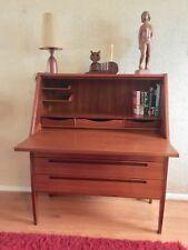 Danish teak secretary desk by Nils Jons for Hjn Mobelfabrikson