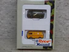 NEW Roco Minitanks / Herpa  Special German VW Type 2 Van Set Lot #930K