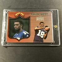 RANDY MOSS 1998 PANINI ABSOLUTE SSD #40 FOIL ACETATE ROOKIE RC NFL HALL OF FAMER