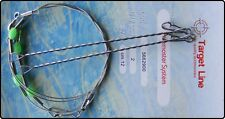 Ready Made 2 Boom Wire Paternoster Rig - Sea Fishing Rigs
