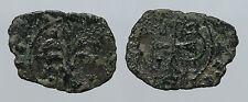 pcc939_20) Messina Carlo I d' Angiò (1266-1282) Denaro con Palmizio Spahr 53 R2