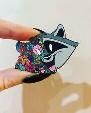 Meeko Pocahontas Fantasy Pin Disney Trading Pin Flowers Floral Limited Edition