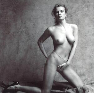 1990 Craig Morey 8x10 B&W Rare Gelatin Silver Nude Study, April, Signed, Matted