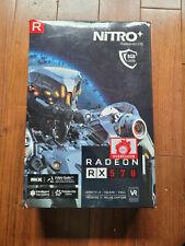 SAPPHIRE Nitro+ Radeon RX 570 8GB GDDR5 Graphics Card Dual Bios - Mining Ready