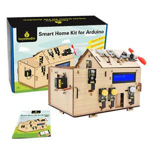 KEYESTUDIO Smart Home House Science STEM Toys Starter Kit for Arduino Kids