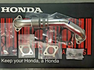 HONDA CRV Mk3 EGR Pipe Kit & Gaskets, 2.2DTEC Models,2010-2015, *GENUINE HONDA *