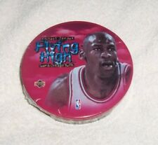 NBA : Michael Jordan Chicago Bulls Sealed 5 Metal Card Set in Metal Tin - Rare