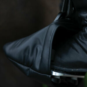 Equetech Stirrup Toe Cosies - Black One size - HORSE RIDING TOE WARMERS - NEW