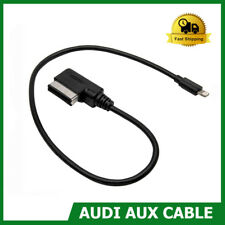 Music Interface AMI MDI AUX Adapter Audi VW Audio Cable Black For iphone 5 6 7 8