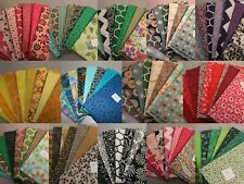 Fat Quarter Bundles Variety Your Choice ( 9 per bundle) 100% Cotton Quilting