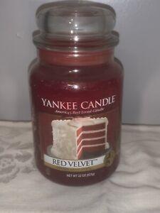 Yankee Candles Red Velvet