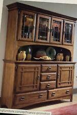 Universal Furniture Artisan Oak Buffet and Hutch