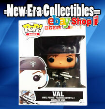 Pop Games Evolve #38 Val Vinyl Action Figure Bust Funko 2010
