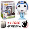 FUNKO POP VINYL PEANUTS ASTRONAUT SNOOPY #675 EXCLUSIVE + FREE POP PROTECTOR