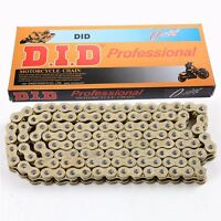 Gold 520 O Ring Chain 120 Link For Motorcycle Kawasaki KX125 KX250 KX250F KX450F