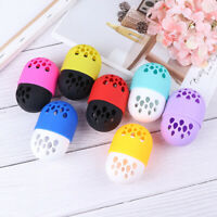 Drying Silicone Makeup Sponge Puff Case Powder Puff Blender Holder Cosmetic Box