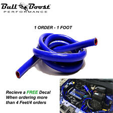 10mm 38 Blue Vacuum Silicone Hose Racing Line Pipe Tube 1 Foot Per Order Fits Chevrolet