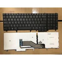 US Laptop Keyboard Backlit for Dell Latitude E5520M E5530 E6520 E6530 Series