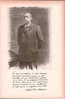 Portrait Albert Ier Prince de Monaco Grimaldi Monte Carlo