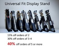 Universal Lightsaber Display Stand Star Wars fits Galaxy's Edge Legacy series