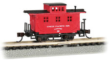 Escala N - Old-Time Madera Caboose Union Pacific 15751 Neu