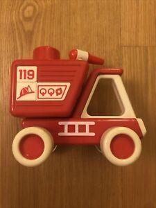 vintage tonka 119 firetruck Bandai 1985