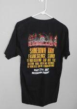 2012 Carolina Rebellion Concert T-Shirt Shinedown Korn Five Finger Death Punch