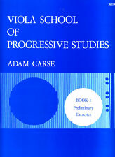 Viola School of Progressive Studies Book 1 - Adam Carse - 7655A - Stainer & Bell