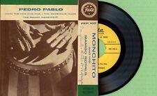 MONCHITO & HIS MAMBO ROYALS - PEDRO PABLO / FISTA FEP 102 Pres USA 1959 EP VG+