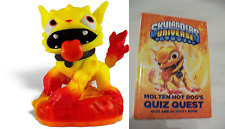 Skylanders GIANTS lot Loose New MOLTEN HOT DOG & QUIZ BOOK Superchargers