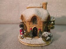 Lilliput Lane Coldstream Guard 2004 Snow Place Like Home Collection L2778 Deed