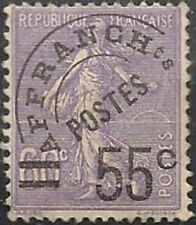 "FRANCE STAMP TIMBRE PREOBLITERE 47 "" SEMEUSE 55c S. 60c VIOLET "" NEUF xx TTB"